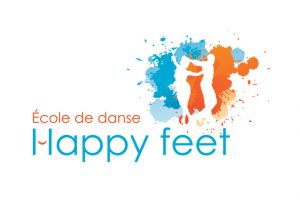 Logo École de danse Happy feet
