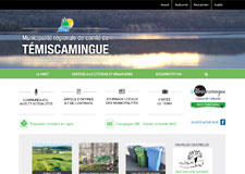 web Témiscamingue